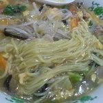 川崎屋 - ビーフンの麺はやや細めの麺