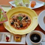 イタリアン カフェ キミタント - 料理写真:ランチセットA