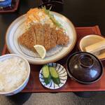 和の台所 なだまん - ロースとんかつ定食 ¥680(税別)