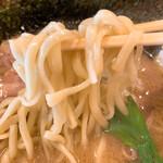 ラーメン 三七十家 - 麺