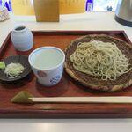 そば切り なかむら - セイロ蕎麦(800円)