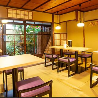 京町家風の趣ある和空間。団体様や女性のお客様も大歓迎です!