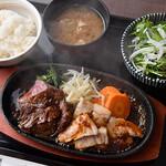 串焼黒松屋 - 黒毛和牛と和豚のステーキランチ