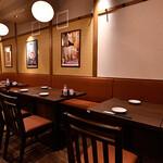 串焼黒松屋 - テーブル席