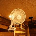 島たいむ がんじゅう - 常備換気&扇風機設置