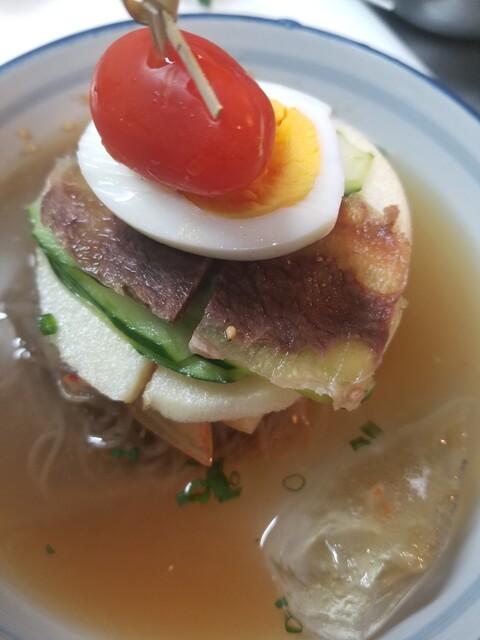 ソウル南山の料理の写真