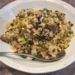 五反田 宝亭 - ごはんよりも具が多くを占めシャリシャリと水分を含んだ炒めたての高菜チャーハン