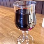 ビストロラフルール - タパスセット ワイン赤