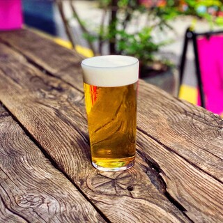 国産を中心としたクラフトビールが充実のラインアップ◎