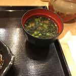 日本橋 からり - 味噌汁