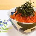 浜潮 - 夏季限定 浜潮特製いくらの醤油漬け丼