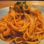 にっぽんの洋食 津つ井 - 「スパゲティナポリタン」(¥1100):ケチャップの甘酸っぱさが主張!うーん、久々の昭和味!
