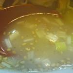 13286884 - あっさりトンコツスープ