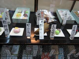 "日本橋 長門 - ""上生菓子""の状況"