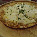 タム・トルネード - キーマカレーのピザ