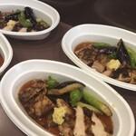 穂卓 - チキングリルと野菜の焼き浸し700円