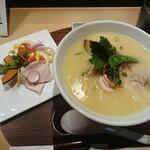 銀座 篝 - 特製鶏白湯SOBA  1,400円