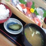 五右衛門 - 刺身定食¥1,200-