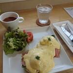 ホッチーノコーヒー - エッグベネディクト 1,250円(税込)