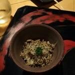 アマネムダイニング - トリュフ蕎麦