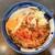 つるや - 料理写真:紅生姜天そば(420円)+生たまご(60円)