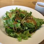 堂島グラッチェ - ランチセットのサラダ