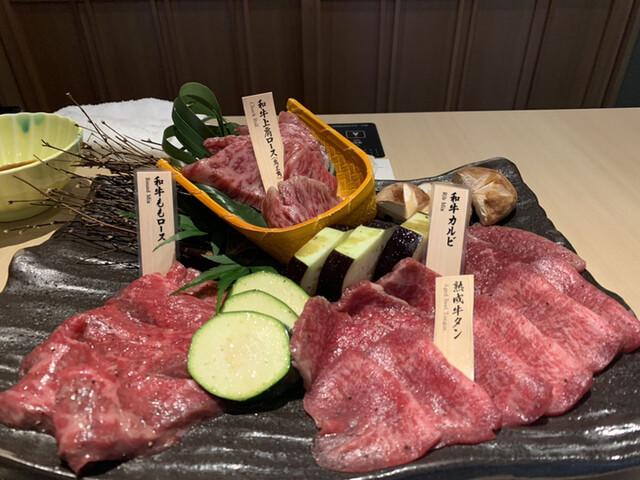 焼肉会席 舌牛 銀座店の料理の写真