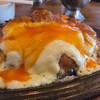 ごちそうさま - 料理写真:ジャンボイタリアン、チーズ溢れてます