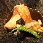 さかなや別邸 - 銚子の地金目鯛の煮付け