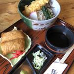 そばの葵 - 料理写真:いなり天そばセット979円