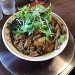 湯の台食堂 - 汁無し中華(700円)