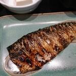 132886505 - 炭火焼魚定食 さば  ¥730(税込)