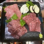 肉料理おがた - 前沢牛焼肉食べ比べ御膳