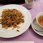 Tenshinhanten - 海老と高菜の炒飯