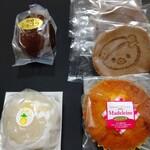 きらく山口屋 - 料理写真:ショコラパインあゆコロちゃんマドレーヌ