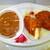 炭焼きジンギスカン いし田 - 料理写真:チキンカレー弁当 380円(税込)デフォ【2020年7月】