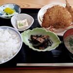 定食の店 つかさ - 料理写真:アジフライ定食(830円)