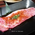 炭火焼肉 まん平 - 上ロース(サーロイン) 1659円