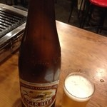 鳥勝 - 瓶ビール大 460円