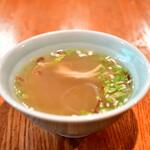 ブリ・マデ - 【ナシ ゴレン@900円】スープ