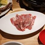 熟成仔羊焼肉 LAMB ONE - ラム肩ロース(追加)
