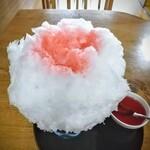日光茶屋 - すこしかけてみました!やっぱ氷苺は日本的な美しさ!