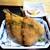 沼津港 海将 zero - 料理写真:小ぶりで身が厚いアジフライ