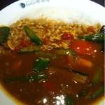 CoCo壱番屋 - チキンと夏野菜のカレー