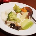 龍海飯店 - 海鮮炒め