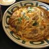 土佐うどん - 料理写真:かつとじ定食