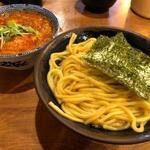 めん屋 桔梗 - 辛つけ麺(大)あつもり