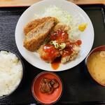 元祖 味里 - チリ唐揚げ&メンチカツ