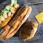 パンプキン - 料理写真:エビマヨ・明太子フランス・カレーパン