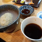 吉原もん - 初もっちり蕎麦がき!揚げも食べたい♪